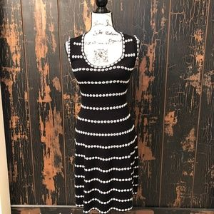 Noir Sleeveless Fit and Flare Dress